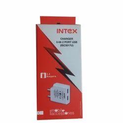 Intex 3.4A 2 Port USB Charger