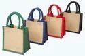 Plain Jute Carry Bag, Capacity: 6-8 Kg, Size/dimension: 8 X 10 X 3 Inch