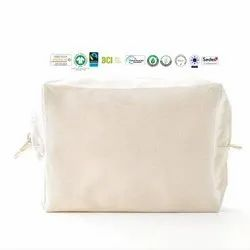 Fair Trade Organic Cotton Pouch Bag