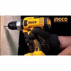 13 Mm 10 mm CDLI2002 Ingco Lithium-ion Cordless Drill, Model Name/Number: CDLI2003, 12 V