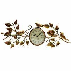 Fancy Clock Round Metal Wall Clock Manufacturer from Mumbai