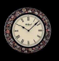 Designer Wall Clock, Size: Free