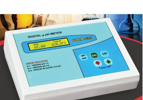 Table-Top Lab pH Meter, Model Name/Number: Gold 533