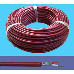 Compensating PVC Cable Inside SS Braided Overall