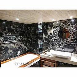 Glass Centre Decorative Mirror Glass