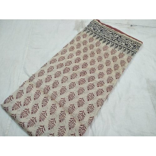 Fancy Indigo Chanderi Saree, Packaging Type: Box