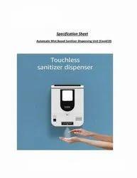 Automatic Mist Based Sanitizer Dispenser