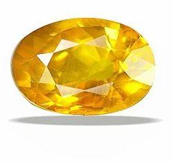 Natural Yellow Sapphire Stone