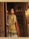 Wedding Wear Embroidery Bollywood Designer Dress