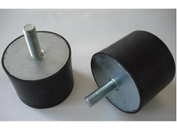 Black Rubber Anti Vibration Mounts, for Industrial