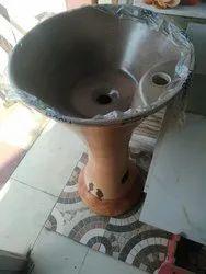 Ceramic Wooden Wash Basin, For Home, Model Name/Number: Nobel Sanitary Wares