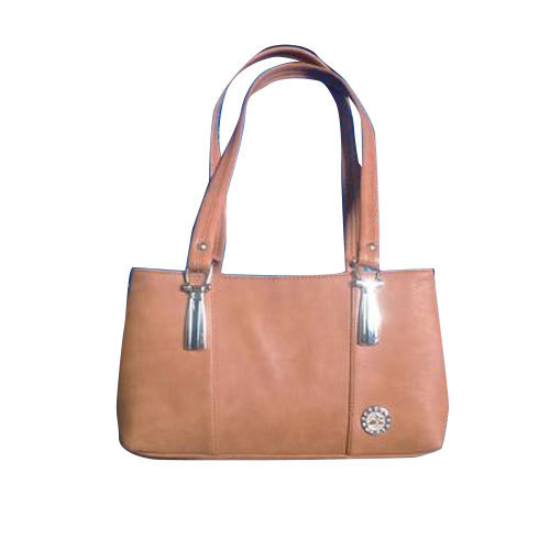 Brown Leather Ladies Hand Bag 747b23ba6150c