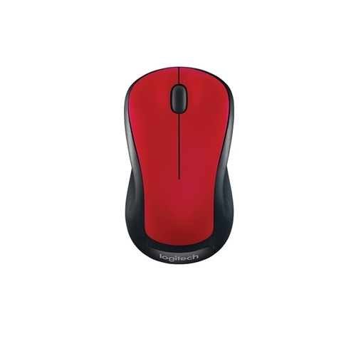 Flame Red Gloss Logitech M310 Wireless Mouse With Color, Rs 3084 ...