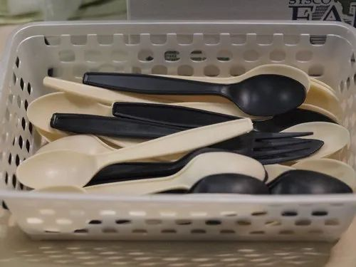 100% Biodegradable Plastic Cutlery Made Of Corn Starch