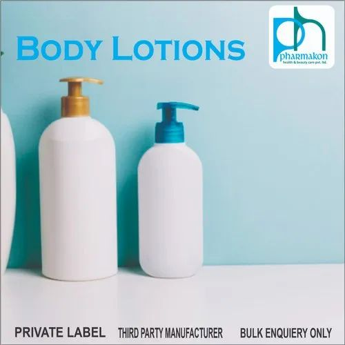 Third Party Manufacturer for Body Lotion