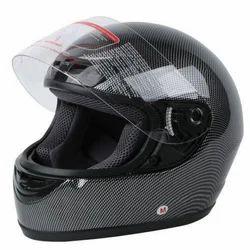 Black Bike Helmet, Size: M And L
