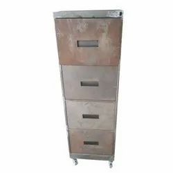 Metal Filing Cabinet 4 Drawers With Wheels