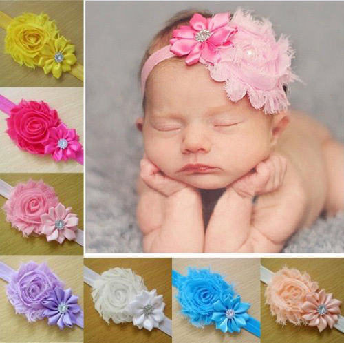 10 Pcs Set Head Band Baby Girl Cloth Elastic Flower Hairband at Rs ... 6100e6a7978