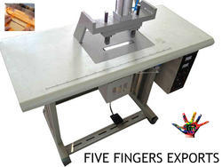 Ultrasonic Double Spot Handle Fixing Machine