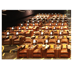 Leather Cinema Recliners - 802M