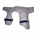 White Cricket Combo Thigh Pad
