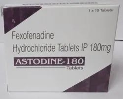 Fexofenadine Hydrochloride Tablets IP 180 mg