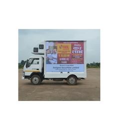 LED Van Advertisement