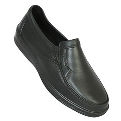 action shoes black leather