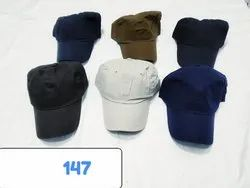 Cotton Caps,Plain Sports Caps and Hats, Code 147
