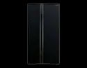 Tempered Glass Auto Hitachi Two Door Refrigerator, Model Name/number: Side By Side, Capacity: 659