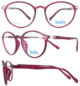 Smoke Fashionable High Quality Unisex Tr90 Spectacle Frame-1257