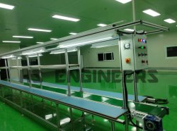Aluminium Section Mobile Packaging Conveyor