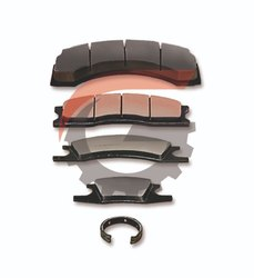 Golden Ceramic and semi-metallic Brake Pads, For Industrial