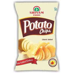 Fried 3 Months Potato Wafer Namkeen