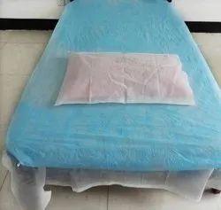 Disposable Non Woven Bed Spread Set-30 Gsm