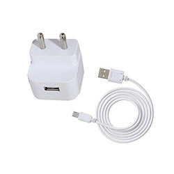 White Mobile Charger
