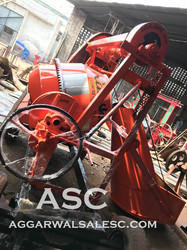 Concrete Mixer With Mechanical Hopper