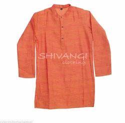 Shivangi Cotton Kurta For Boys Ac71a1