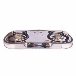 Oval Two Burner Gas Stove