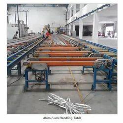 Aluminum Handling Table, Power: 0.55 kW