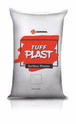 Gardwel White 30 Kg Tuffplast Premium Putty, for Walls And Ceilings, Packaging Type: Pvc Sack