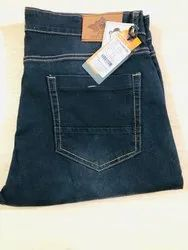 Men Blue Rough Denim Jeans