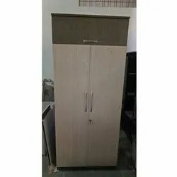 Orgowood Double Door Wooden Wardrobe, for Home