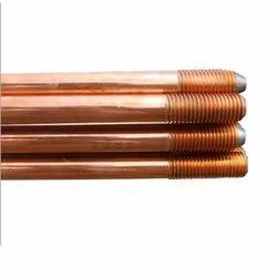Copper Bonded Earth Rod In 25 Micron