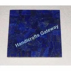 Semi Precious Lapis Lazuli Tile
