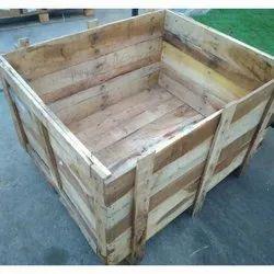 Square Wooden Pallet Box