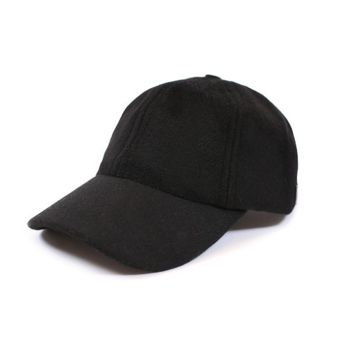 b0c03954c66 Mens Plain Black Cap
