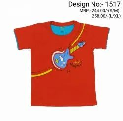 Hosiery Multicolor Knitted T-Shirt Boys, Age Group: 4-8 Year