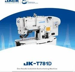 Jack button hole sewing direct drive