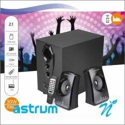 2.1CH 30W RMS BT Wireless Multimedia Speaker